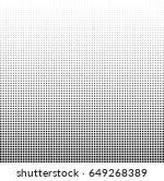 abstract halftone dotted... | Shutterstock .eps vector #649268389