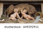 brussels  belgium   may 28 ... | Shutterstock . vector #649292911