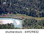 Famous Red Train Glacier...