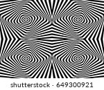 seamless abstract black and... | Shutterstock .eps vector #649300921