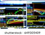 stock exchange | Shutterstock . vector #649305409