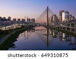 sao paulo brazil south america... | Shutterstock . vector #649310875