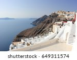 fira  santorini  greece  ...   Shutterstock . vector #649311574