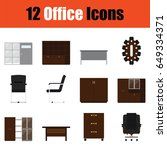flat design office furniture...