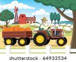 farm   Shutterstock .eps vector #64933534