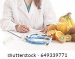 dietitian doctor   Shutterstock . vector #649339771