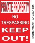 Private Property  No...