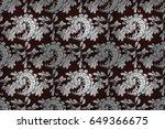 seamless raster background.... | Shutterstock . vector #649366675
