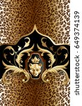 Vertical Animal Background Wit...