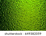 green sunny textured stained... | Shutterstock . vector #649382059