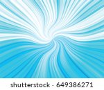 blue curved rays background | Shutterstock .eps vector #649386271