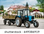 dobrush  belarus   may 9  2017  ... | Shutterstock . vector #649386919