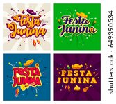 latin america traditional festa ... | Shutterstock .eps vector #649390534