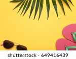 summer holiday vacation... | Shutterstock . vector #649416439