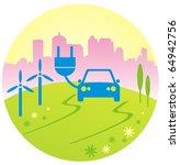 eco car concept | Shutterstock .eps vector #64942756