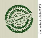green super summer sale...   Shutterstock .eps vector #649452499