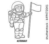 coloring book for children ... | Shutterstock .eps vector #649472041