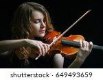 Beautiful Violinist Girl...