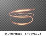 radial spiral shining