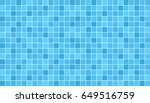 blue ceramic floor and wall... | Shutterstock .eps vector #649516759