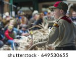 jackson hole  wyoming   may 20  ... | Shutterstock . vector #649530655