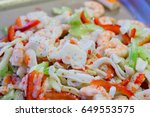 sushi sea food in the... | Shutterstock . vector #649553575
