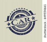 blue car distress grunge seal   Shutterstock .eps vector #649554661