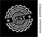best chalkboard emblem   Shutterstock .eps vector #649559815