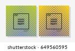 set of minimal poster design....   Shutterstock .eps vector #649560595