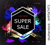 super sale banner. sale poster.
