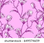 illustration made by ink on... | Shutterstock . vector #649574659