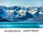 glacier bay cruise   alaska... | Shutterstock . vector #649579099