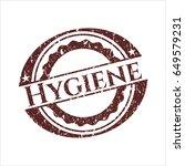 red hygiene distress rubber...   Shutterstock .eps vector #649579231