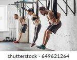 training on rings   Shutterstock . vector #649621264