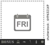 calendar icon flat. simple...