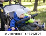 Double Jogging Stroller With...