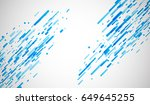 blue abstract background on... | Shutterstock .eps vector #649645255