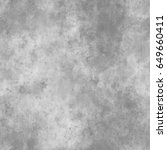 gray concrete  seamless ... | Shutterstock . vector #649660411
