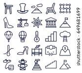 high icons set. set of 25 high...   Shutterstock .eps vector #649681699