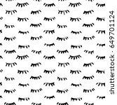 hand drawn seamless pattern...   Shutterstock .eps vector #649701124
