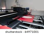 digital printing   wide format | Shutterstock . vector #64971001