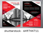 business brochure. flyer design.... | Shutterstock .eps vector #649744711