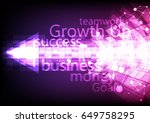 business arrow successful and... | Shutterstock .eps vector #649758295