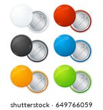 realistic shiny empty color... | Shutterstock .eps vector #649766059