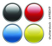 four web icons illustration | Shutterstock . vector #6498049