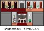 illustration of a hotel...   Shutterstock .eps vector #649830271