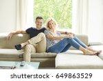 full length shot a happy mature ... | Shutterstock . vector #649863529