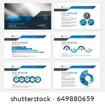 template presentation slides... | Shutterstock .eps vector #649880659
