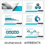 template presentation slides... | Shutterstock .eps vector #649880674