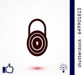lock icon    vector eps 10...